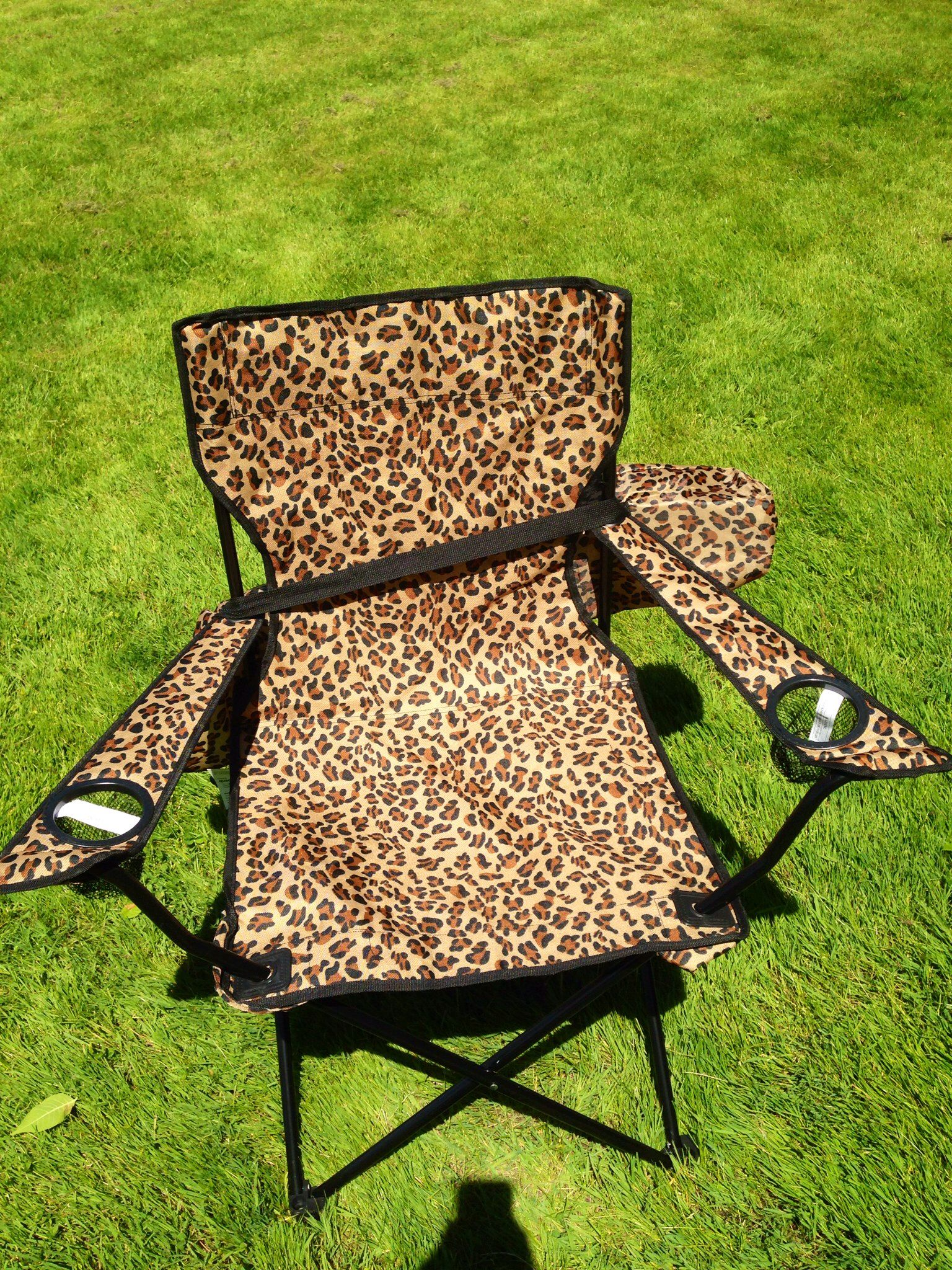 My New Chair I Love Leopard Leopard Animal