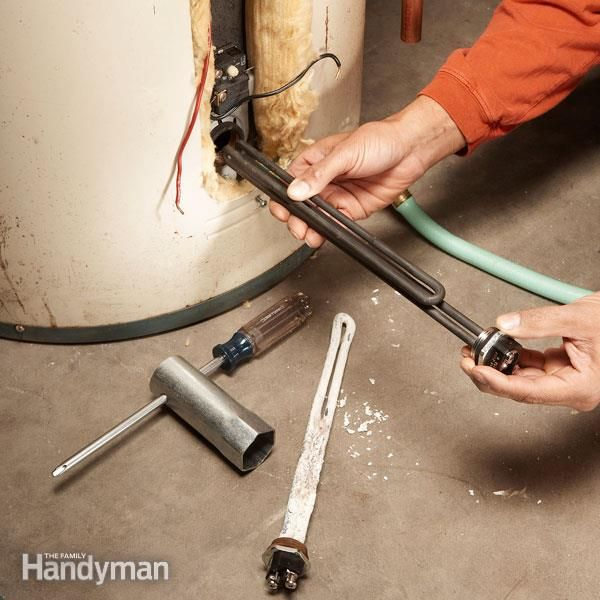 Diy Water Heater Testing And Repair Water Heater Repair Heater