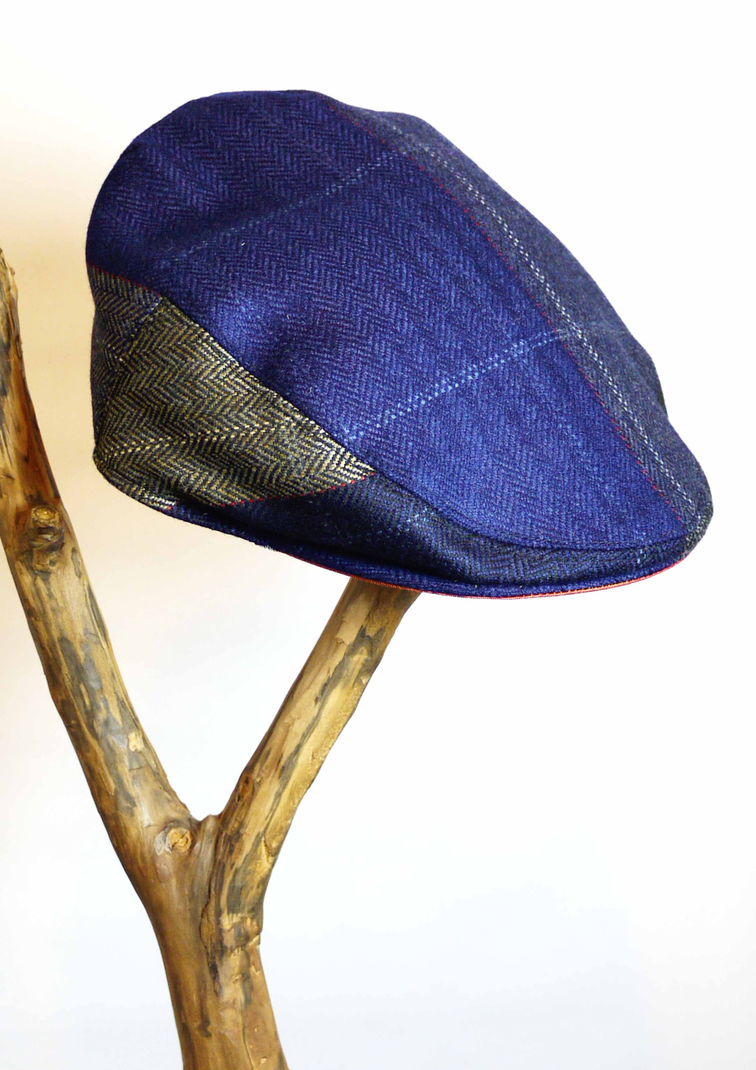 KEMPADOO MILLAR LIMITED EDITION FLAT CAP IN YORKSHIRE TWEED. BRITISH MADE  MENS ACCESSORIES 4d5595492e9