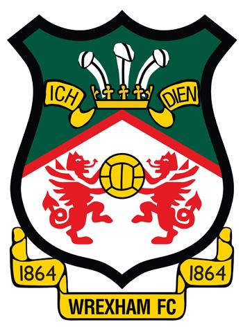 Wrexham F. C. England Piłka nożna, Odznaka