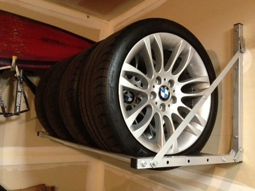 Outstanding Brand New Wall Mounted Tire Rack Or Workbench Garage Storage Frankydiablos Diy Chair Ideas Frankydiabloscom