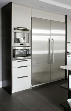 built in kitchen appliances - Google Search | Home decor | Pinterest ...
