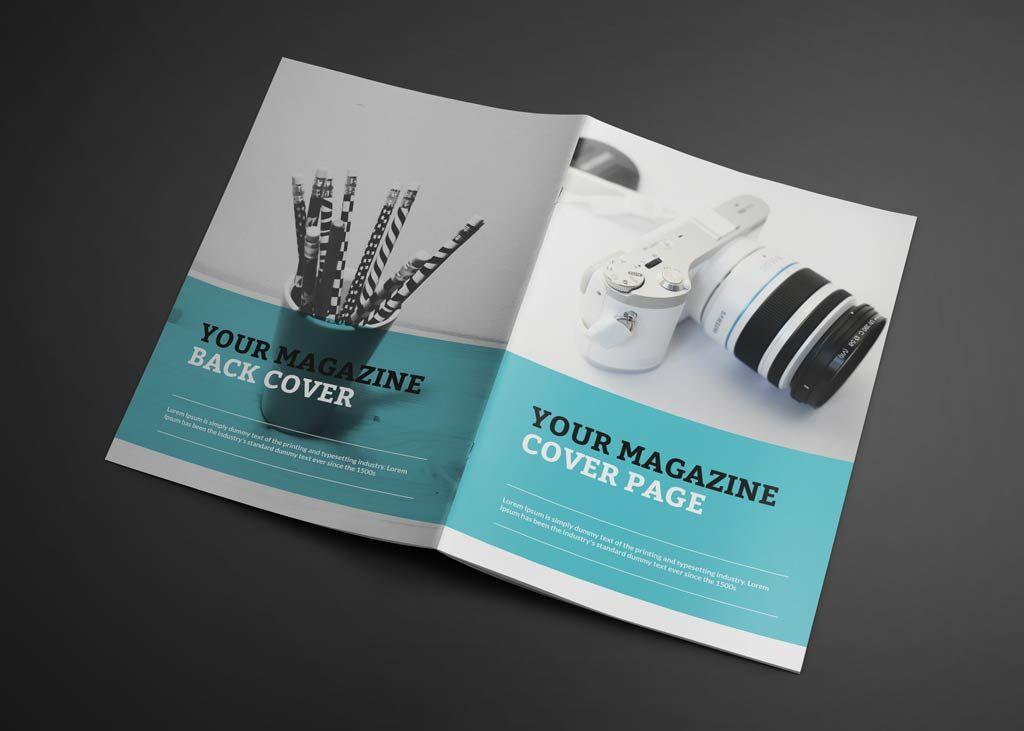 Photorealistic Magazine Mockup Free Psd 1 Magazine Mockup Magazine Mockup Psd Magazine Mockup Free