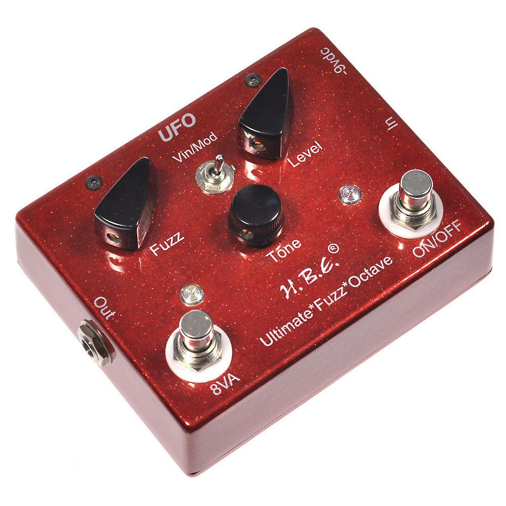 HomeBrew Electronics Ultimate Fuzz Octave Fuzz, Home brewing