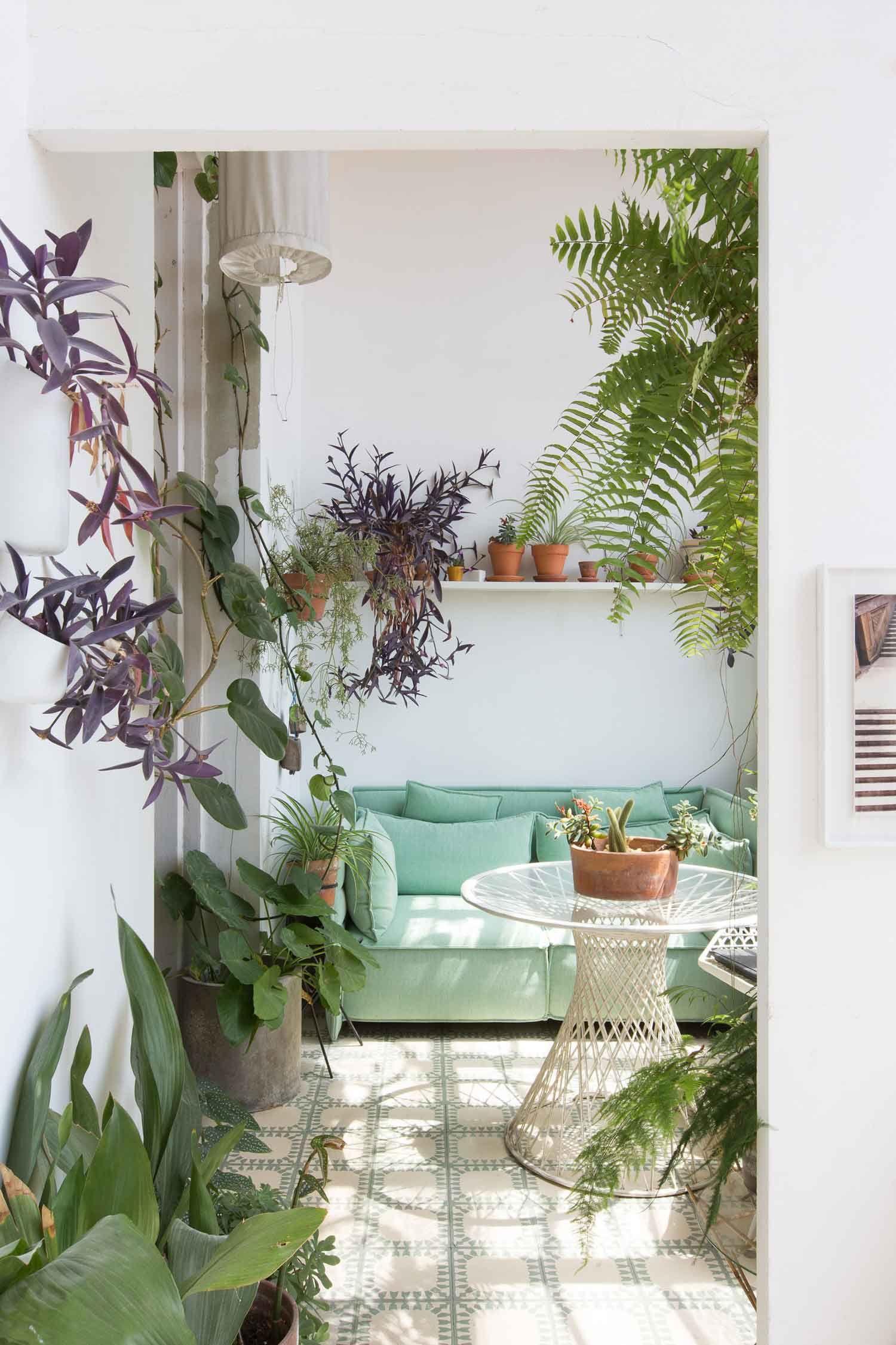greenterior creatives interior and their love for plants gardens rh pinterest com