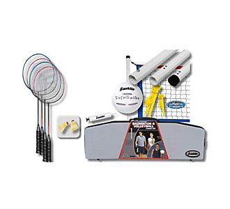 Franklin Sports Advanced Combo Volleyball Badminton Set Scheels Badminton Set Franklin Sports Badminton