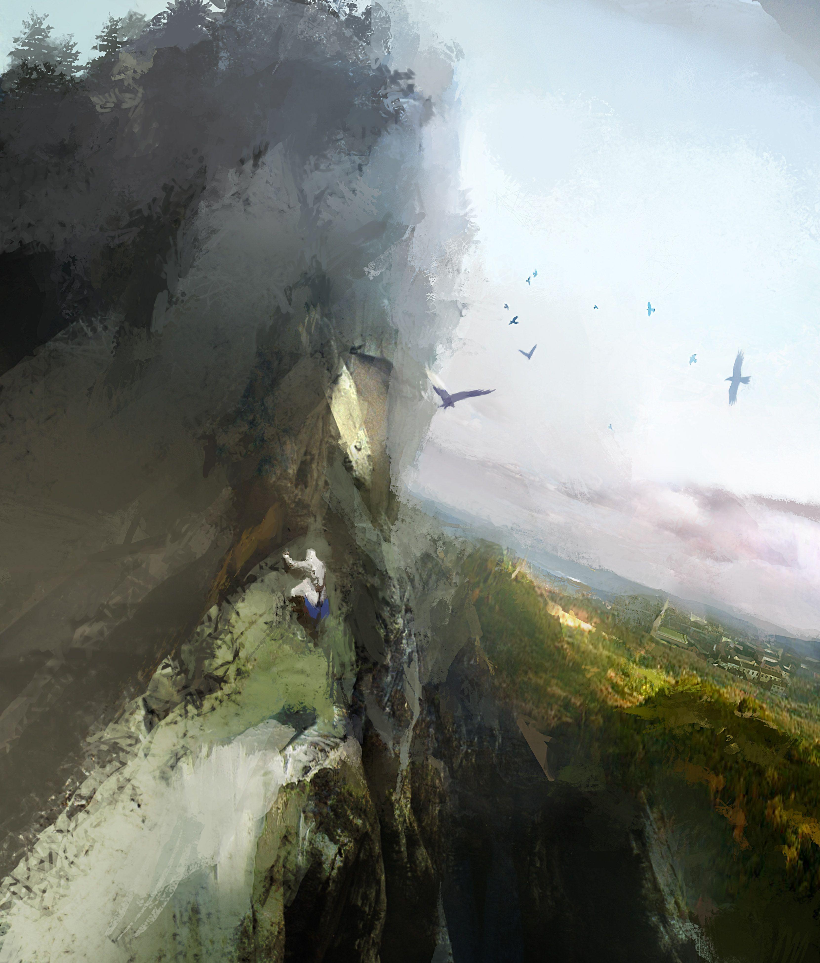 Climbing the Mountain | Video Games Artwork