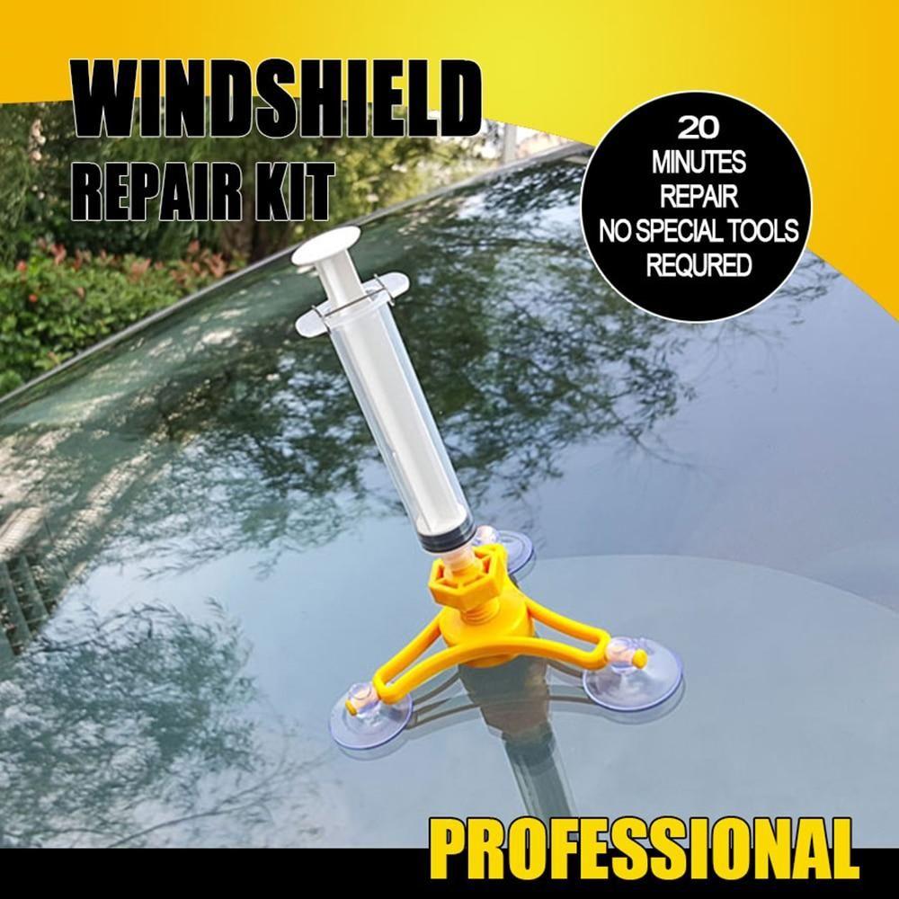 Cracked glass repair kit mystup in 2020 windshield