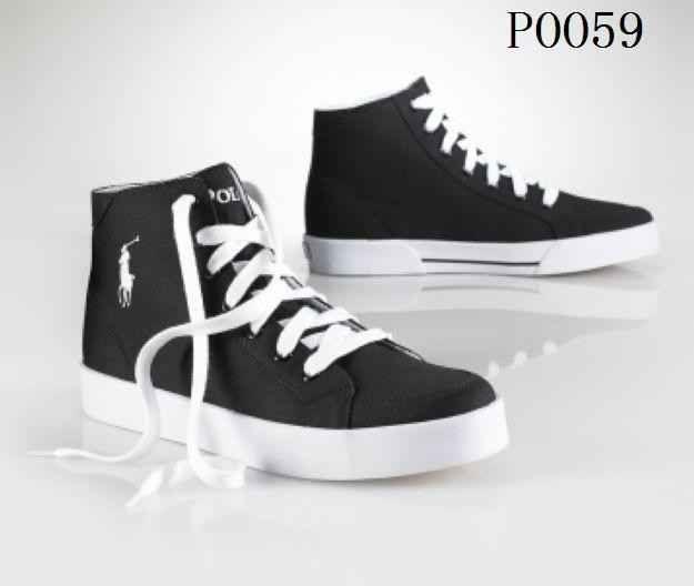 Polo Ralph Lauren Men's High-Top shoes P0059 Sale