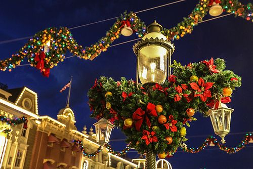 Mickey\u0027s Very Merry Christams Party Main street and Disney s