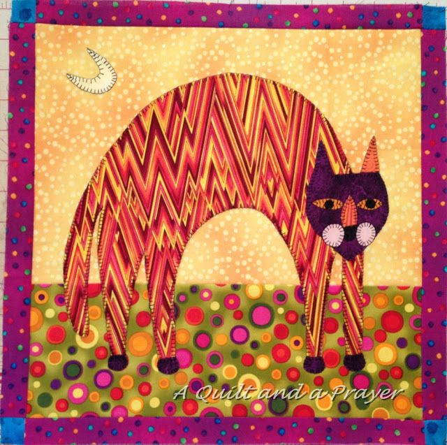❤ =^..^= ❤  A Quilt and A Prayer: Cool Cats