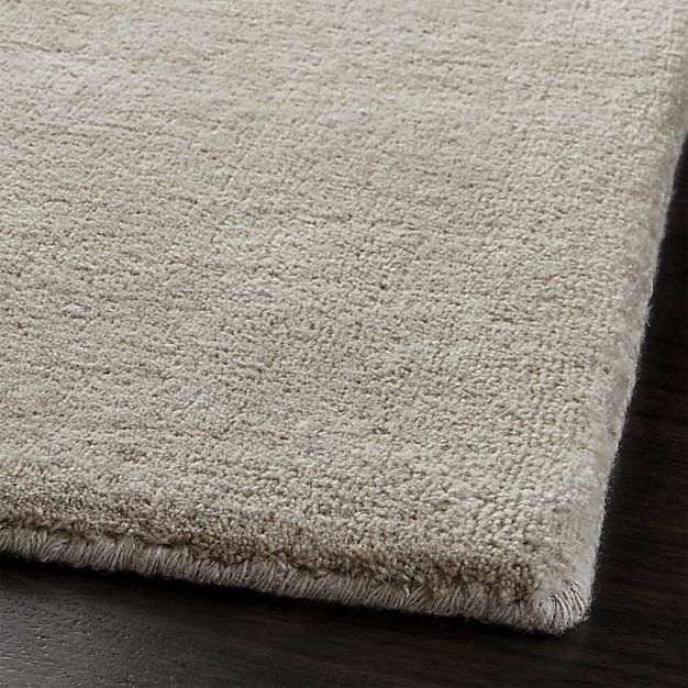 Baxter Putty Wool 9x12 Rug Crate And Barrel Deeptas Great