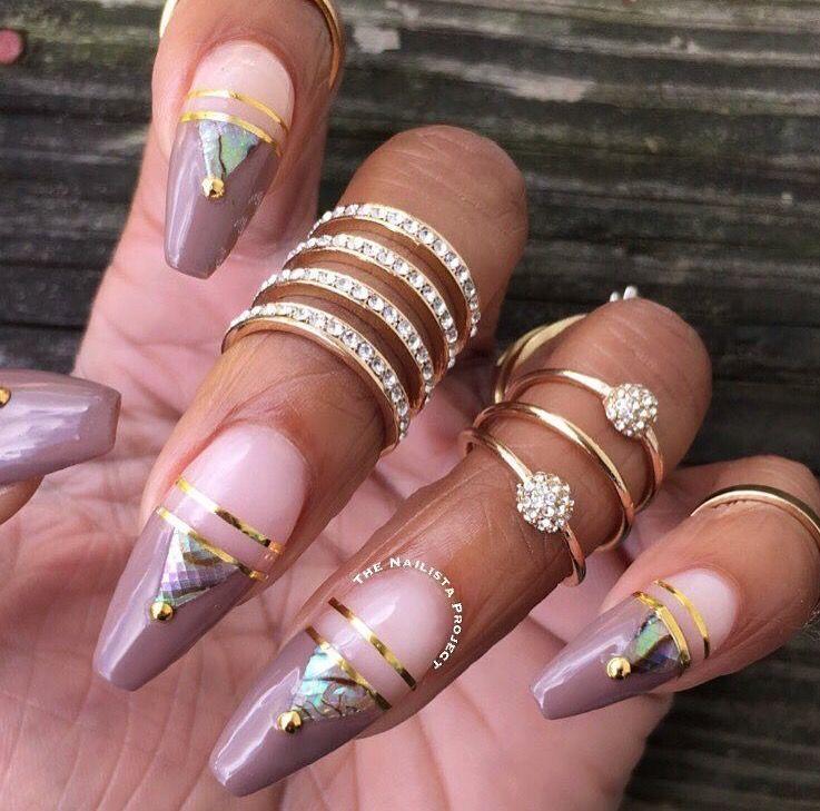 Pin by Ольга Милокумова on ногти   Pinterest   Beauty nails, Nail ...