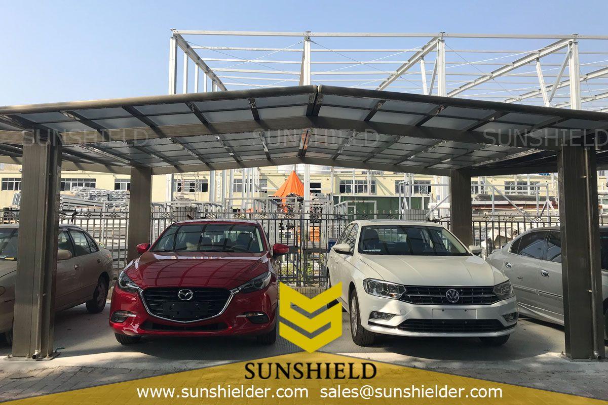 Retractable Sun Room Aluminum carport, Carport sheds