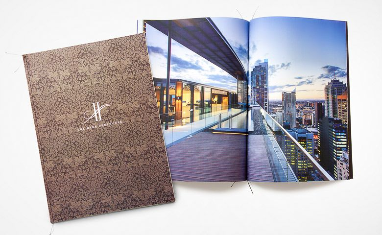 Luxury Penthouse Marketing Brochure Property  Brand Board  Djd