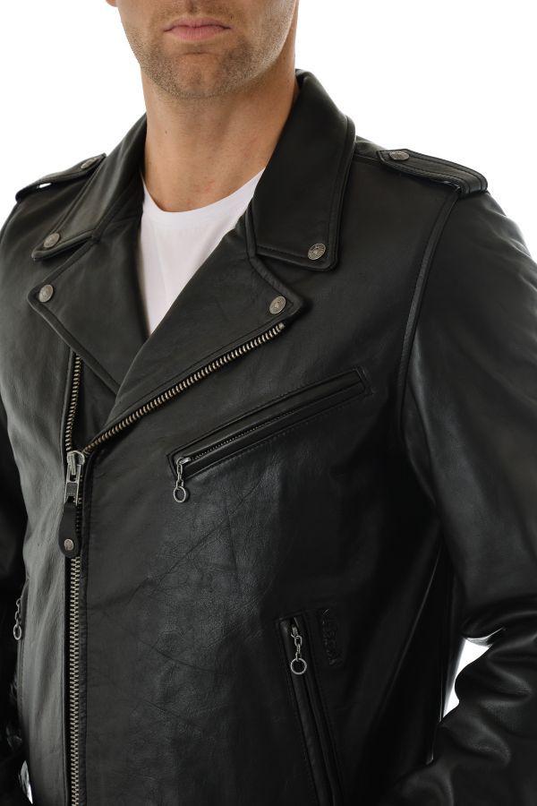 Blouson Homme Schott LC1140VINT BLACK
