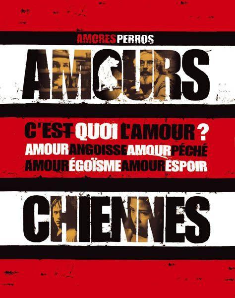 Amours Chiennes Affiche Film Critique Cinema Chien