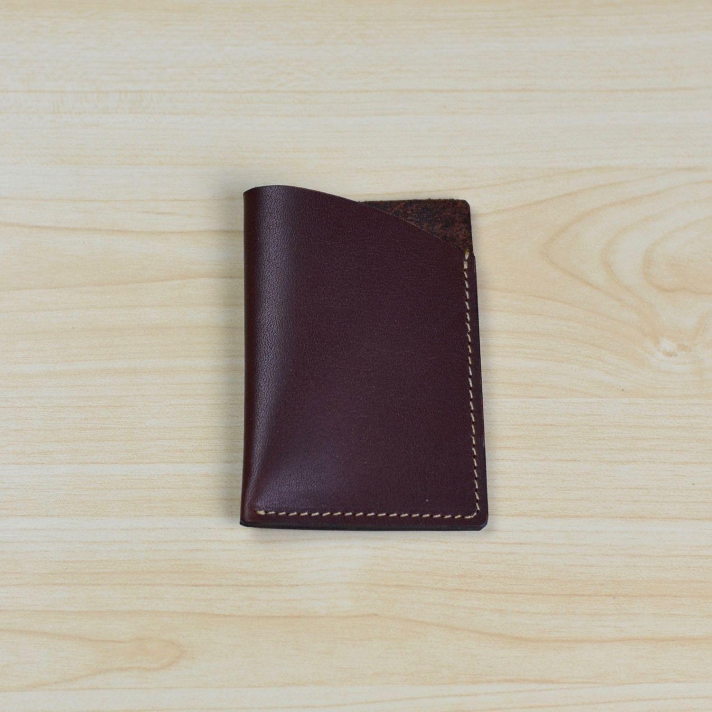 Minimalist Business Card Holder, Business Card Case, Card Wallet ...