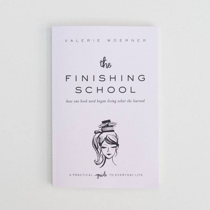 The Finishing School Book In 2020