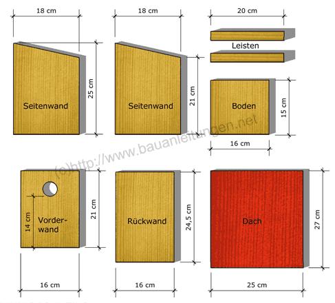 nistkasten bauanleitung nistk sten bauen pinterest nistkasten bauanleitung nistkasten und. Black Bedroom Furniture Sets. Home Design Ideas