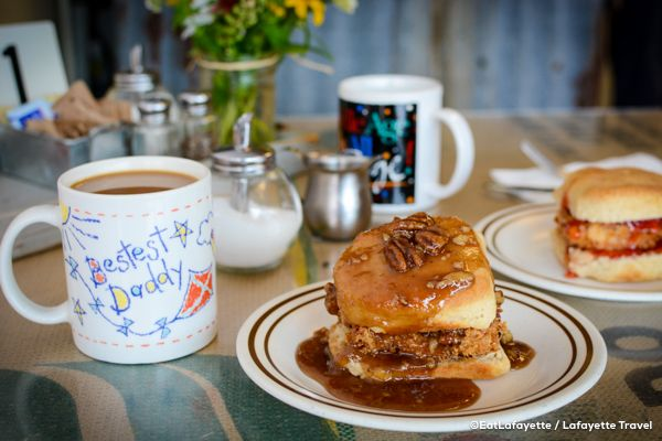 Rusted Rooster Is A Casual Restaurant Open For Breakfast And Lunch That S Close To Downtown The University Of Louisiana At Lafayette