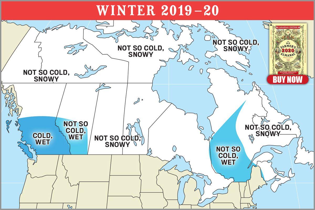 2020 Canadian Weather Map Jpg Winter Forecast Old Farmers Almanac Mild Winter