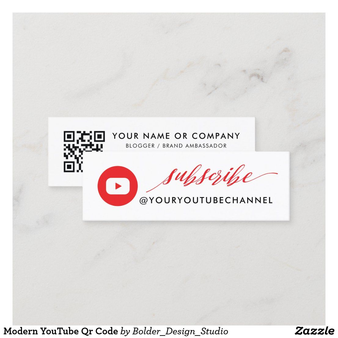 Personal Business Card With Qr Code Qr Code Business Card Personal Business Cards Personal Business Cards Design