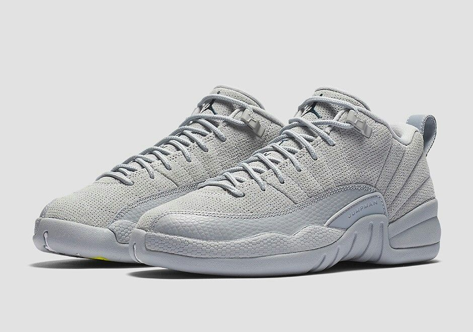 huge discount 9c48a c0ec3 ... cheapest hombre air jordan 12 low retro wolf grey basketball zapatillas  wolf grises armory navy 308317