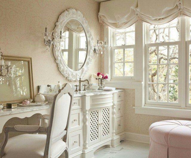 decorar tu casa al estilo shabby chic bano home | Tips & Interior ...