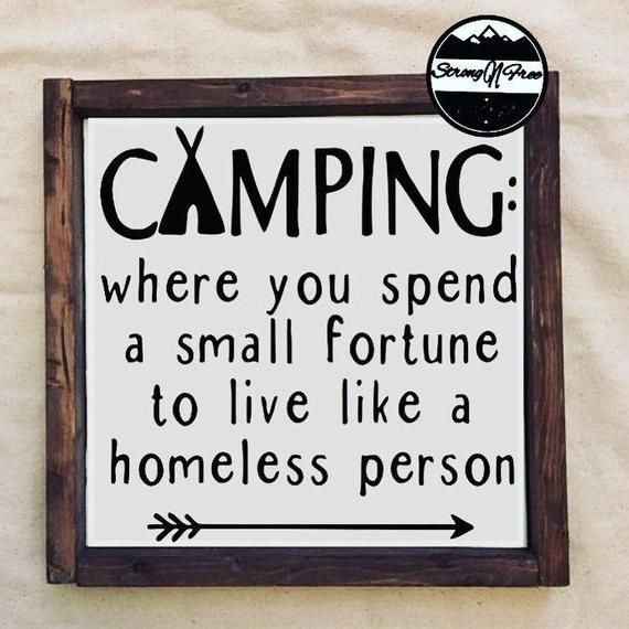 """What To Spend On A Wedding Gift: Camping Where You Spend 12"""" & 6"""""""