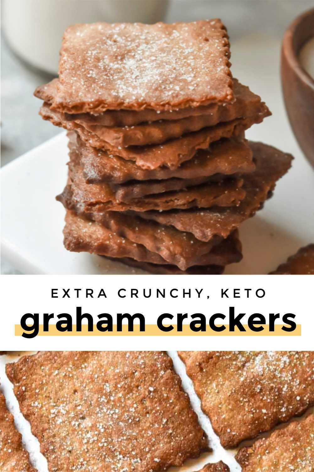 Photo of Low Carb Graham Crackers (Super Crisp!)