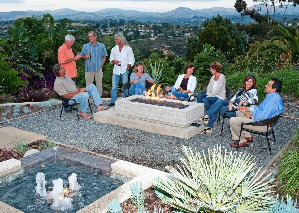 10 Beautiful Pictures Of Outdoor Fireplaces And Fire Pits Hgtv