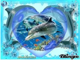 Love divine, all love excelling, fix in us they humble dwelling.....and spare our dolphins....