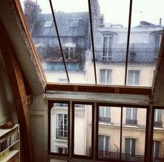 Garret Window Paris