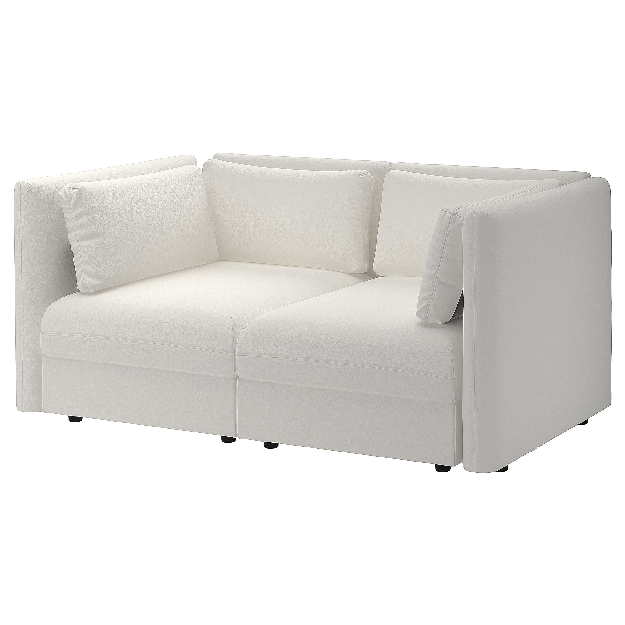 Love Seats Stoelen.Vallentuna Modular Loveseat Murum White Slaapkamer