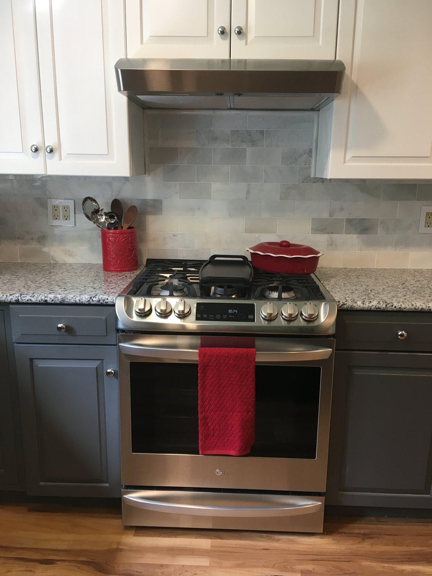A Kitchen Transformation Kitchen Cabinet Styles Gray And White Kitchen Kitchen Transformation