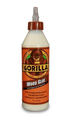 Gorilla Glue 6205001 Wood Glue Bottle 18 Ounce By Gorilla Glue 6 99 From The Manufacturer Gorilla Gorilla Glue Wood Glue Carpentry Projects