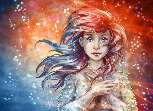 Petite Sirene -little mermaid by clefchan