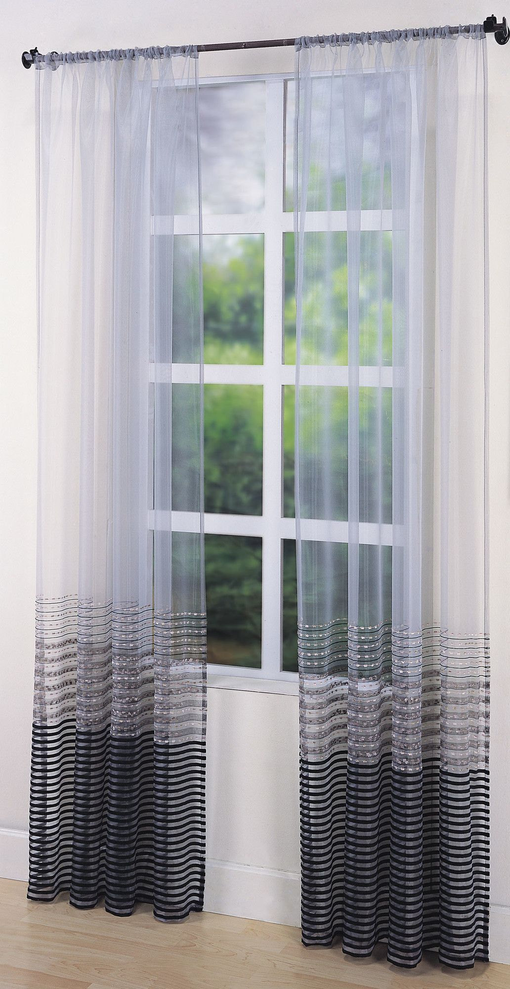 Window covering ideas  sasha sheer curtain single panel  home  pinterest  sheer curtains