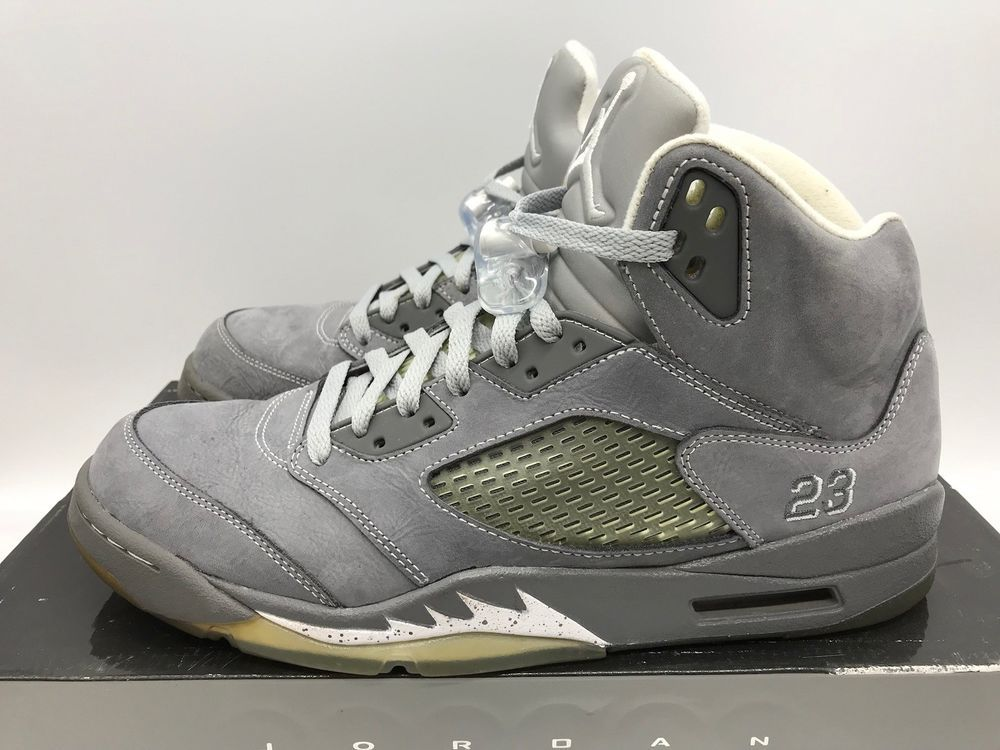 b8d754744eb 2011 Nike Air Jordan 5 V Retro 136027 005 Wolf Grey Mens Size 11 #fashion  #clothing #shoes #accessories #mensshoes #athleticshoes (ebay link)