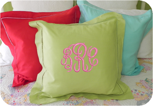 Colorful Hemstitch Pillow Covers! New Year, New Colors!