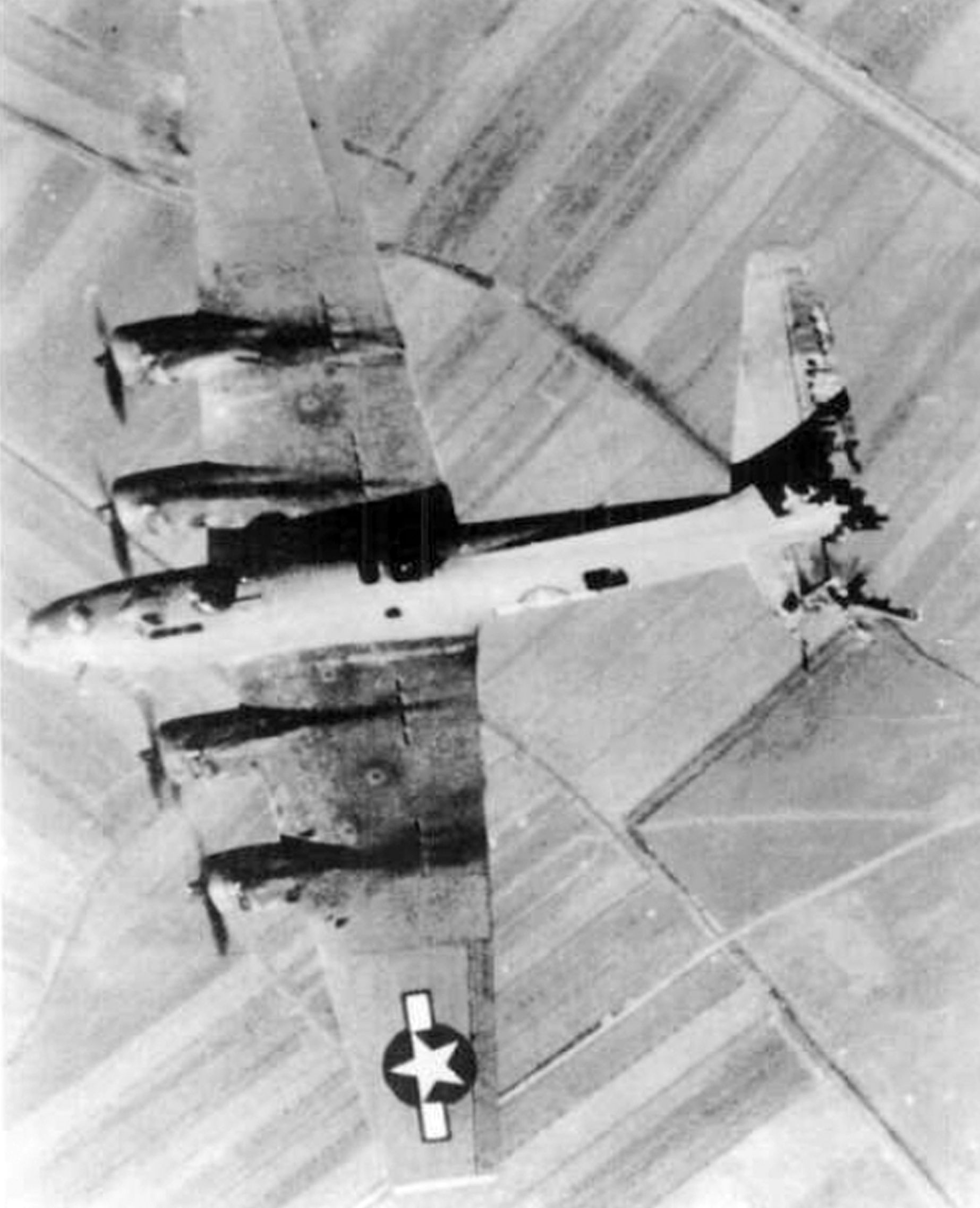 While flying over Italy, this B-17 had most of her tail shot away.  Still, the pilot managed to get her home.  When she was hit, the tail-gunner was blown out into her slipstream.  Miraculously, he was uninjured and managed to get his chute open and land safely.  Once on the ground, the greatest threat was not German or Italian soldiers, who usually took them prisoner, but scared or angry peasants who had been told that Brits and Yanks were savage murderous rapists who should be killed on…