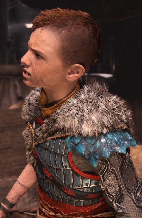 God Of War Atreus : atreus, Atreus, Tumblr, Kratos