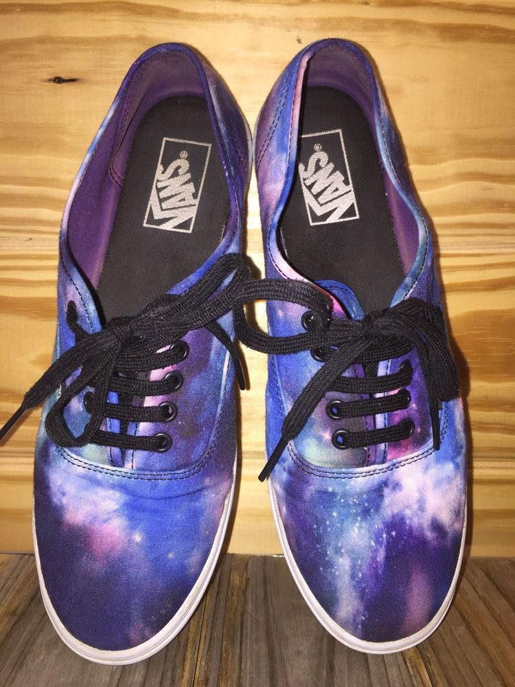 2ab76c442f VANS Galaxy Shoes Mens SZ 8 Womens SZ 9.5 Purple Blue Night Sky TB4R   fashion  clothing  shoes  accessories  unisexclothingshoesaccs   unisexadultshoes (ebay ...