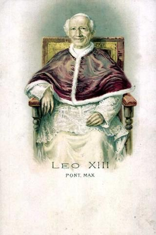 Postcards Of The Past Vintage Postcards Of Popes Pope Leo Xiii