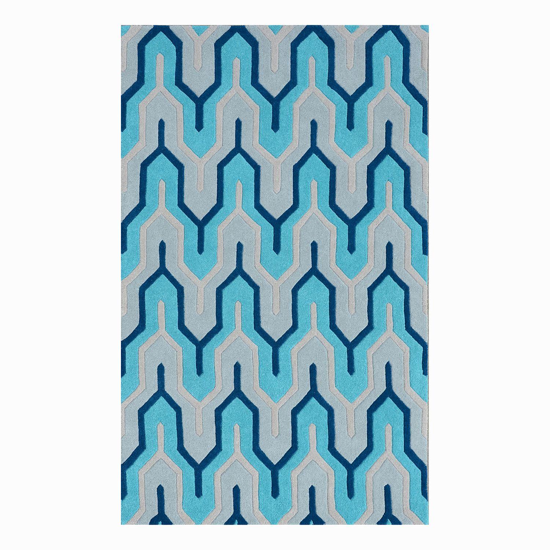 Teppich Flagging I Wolle Blau Morteens Jetzt Bestellen Unter