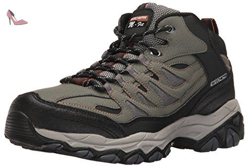 f5dae885f2c1 Skechers Sport Hommes Afterburn Fit Mid Oxford