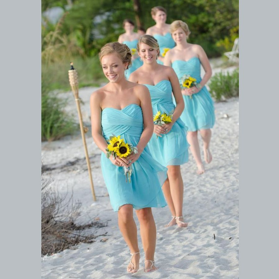 Image result for turquoise bridesmaids dresses | wedding | Pinterest ...