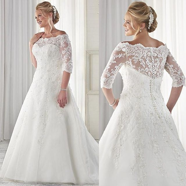 Affordable Custom Plus Size Wedding Gowns From The USA In