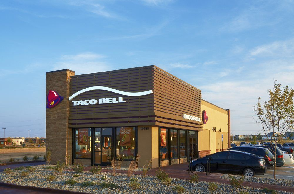 New Taco Bell Store Design Google Search Business Pinterest